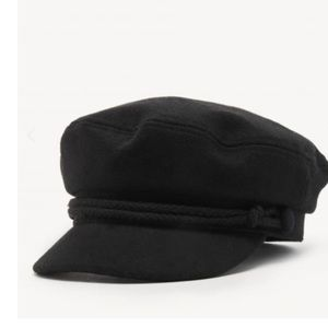 Nordstrom black rope cadet hat
